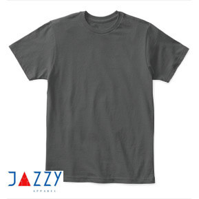 Jazzy Apparel 30s Soft – Charcoal