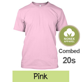 Nonek Apparel 20s – Pink