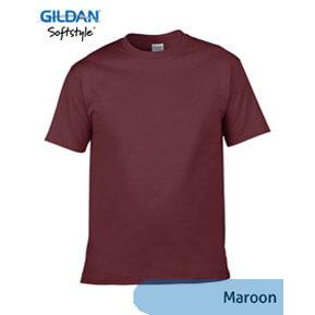 Gildan Softstyle 63000 – Maroon