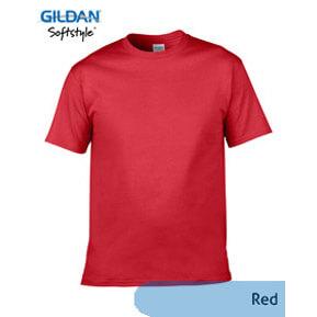Gildan Softstyle 63000 – Merah