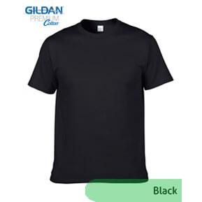 Gildan Premium 76000 – Hitam