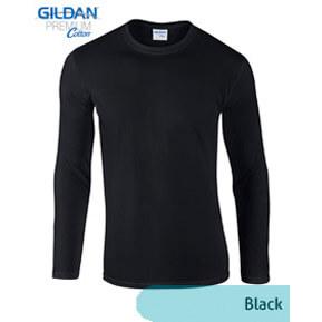 Gildan Longsleeve 76400 – Hitam