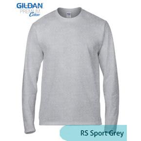 Gildan Longsleeve 76400 – Sport Grey