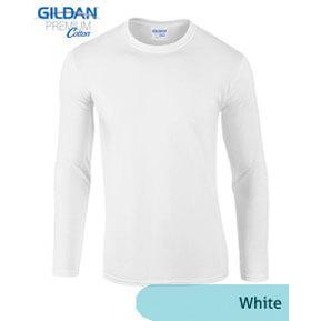Gildan Longsleeve 76400 – Putih