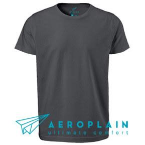 Aeroplain Basic Men – Grey Gull