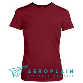 Aeroplain Basic Women – Maroon