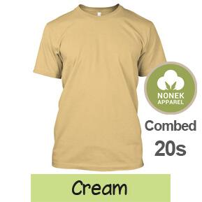 Nonek Apparel 20s – Cream