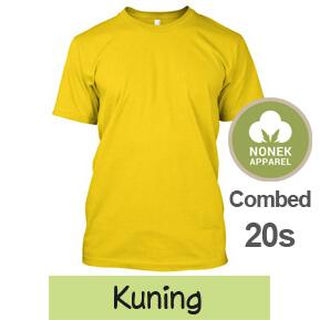 Nonek Apparel 20s – Kuning