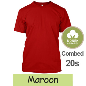 Nonek Apparel 20s – Maroon