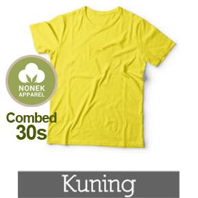 Nonek Apparel 30s – Kuning