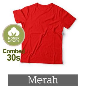 Nonek Apparel 30s – Merah
