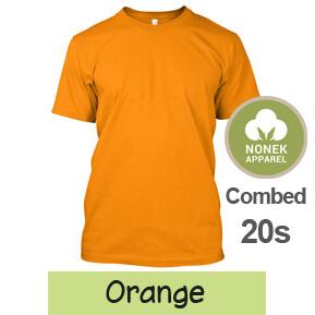 Nonek Apparel 20s – Orange