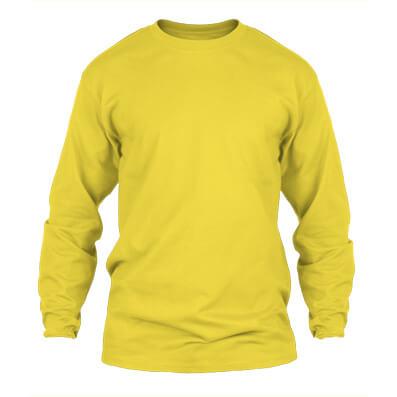 KPM Apparel 20s – Kuning Lengan Panjang