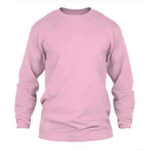 KPM Apparel 20s – Pink Lengan Panjang