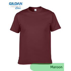 Gildan Premium 76000 – Maroon