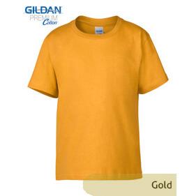 Gildan Youth Premium 76000B – Gold