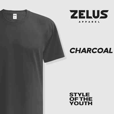 Zelus Apparel – Charcoal