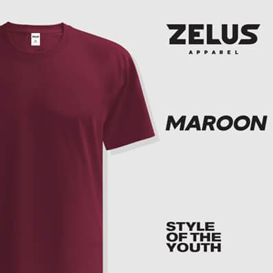 Zelus Apparel – Maroon