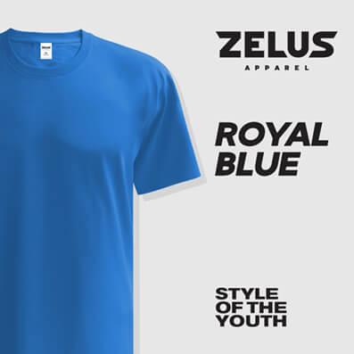 Zelus Apparel – Royal Blue