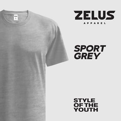 Zelus Apparel – Sport Grey